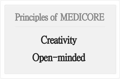 Medicore Co ,Ltd::Philosophy